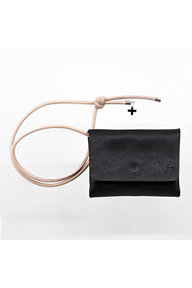 Mini Wallet black/creme