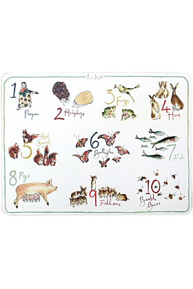 Children's Number Placemat