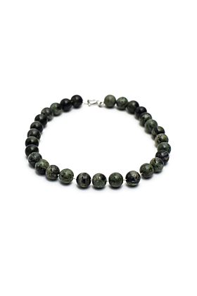 Green Beaded Arlo Bracelet