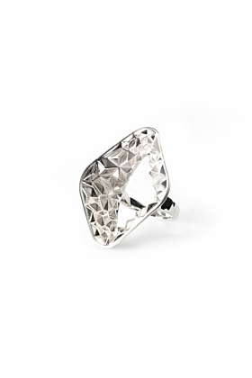 Silver Earth Ring