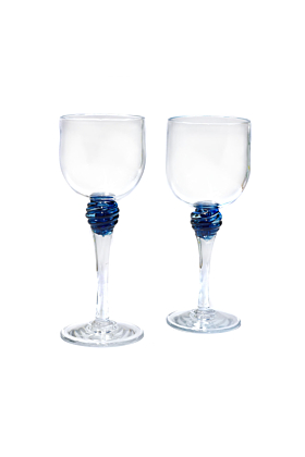 Glass Red Wine Goblets
