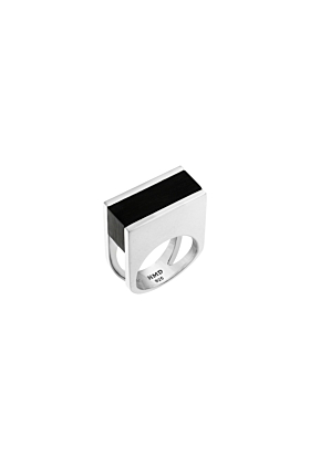 Sterling Silver Resin Redemption Ring