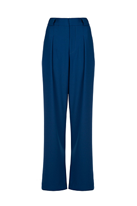 Blue High Waisted Tivoli Trousers