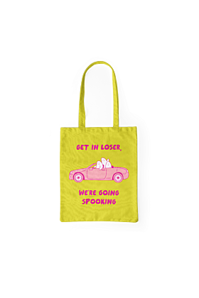 Spooking Cotton Tote Bag