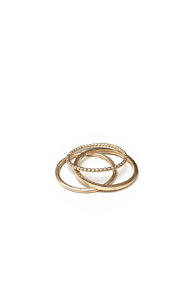 Set of Three 14kt Gold Filled Stacking Rings