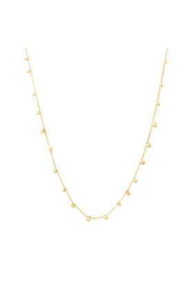 14kt Gold Stardust Shooting Stars Necklace