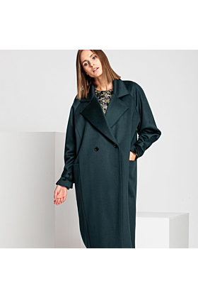 Wool Coat Tender | Green