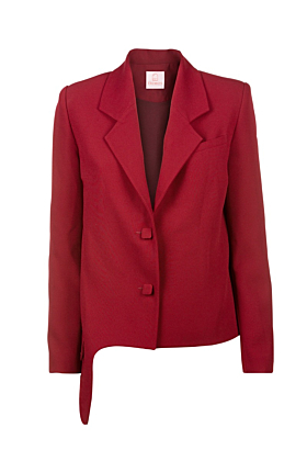 Red Siena Blazer