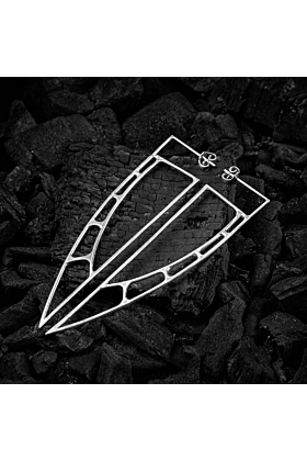 Sterling Silver Astral Sails Large Earrings