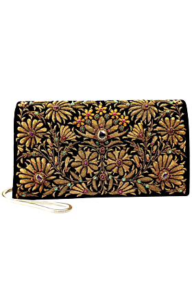 Velvet Heritage Clutch Bag