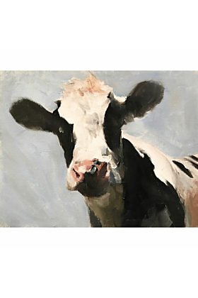 Cow Painting In Print