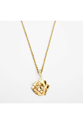 14kt Yellow Gold Plated ROZA Small Necklace
