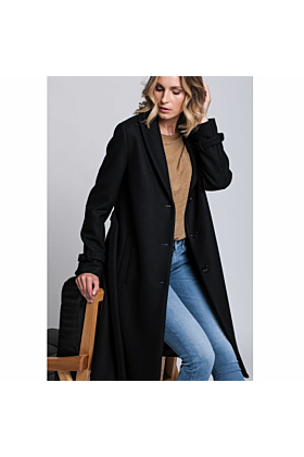 SALE Wool coat Moderation In Black