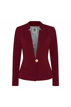Blazer No. 500 Slim-Fit Burgundy