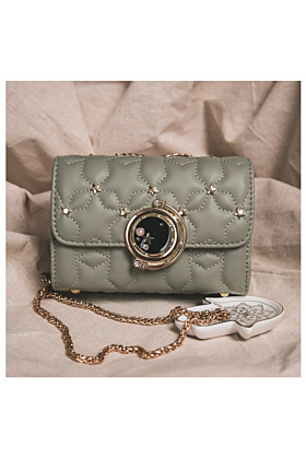 Dora Star Shoulder Bag In Sage