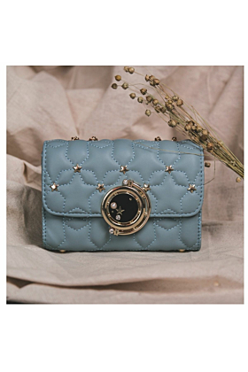 Dora Star Shoulder Bag In Blue