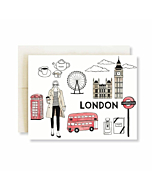 London City Greetings Card