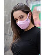 NYNJA Pink Comfort Face Mask with Filter Pocket