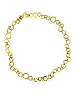 18kt Gold Bubble Bracelet