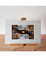 Matted Fine Art Print | Canals in Bruges