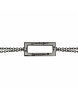 Be grateful Be yourself Chain Bracelet