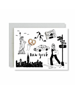 New York City Greetings Card