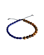 Beaded Rafa Blue Rope Bracelet