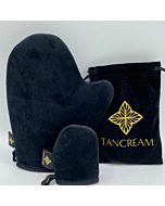 Velvet Luxury Tanning Mitts Set for Face and Body