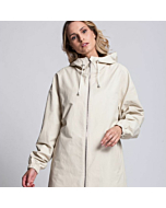 Raincoat Storm With Hood In Light Grey