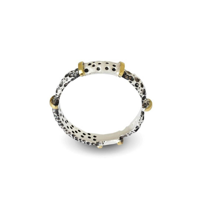 Wild Gold & Silver Ring