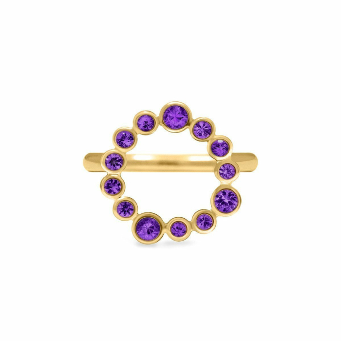 Halo Ring In Gold