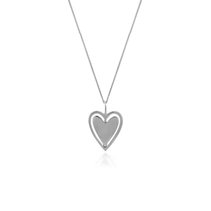 Sterling Silver Spin Me Round Necklace