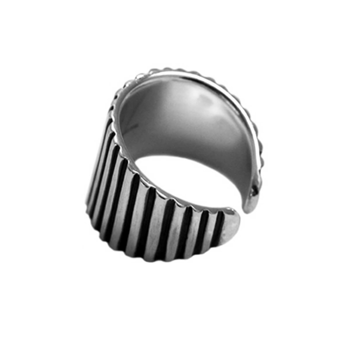Sterling Silver DJ Ring