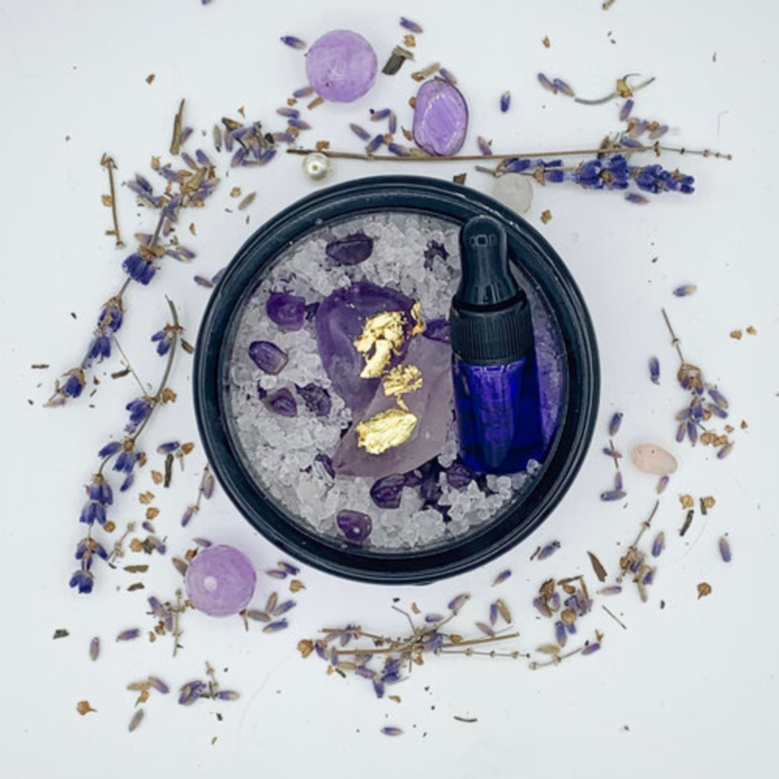 Crystal Room Purifier | Amethyst With Essential Oils