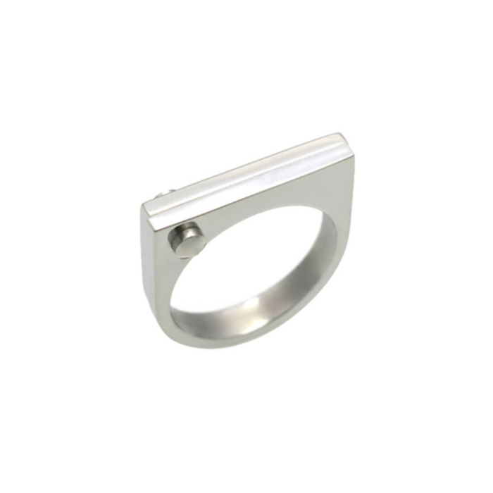 Silver D Ring