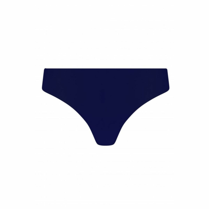Organic Cotton Seamless Knickers in Blue