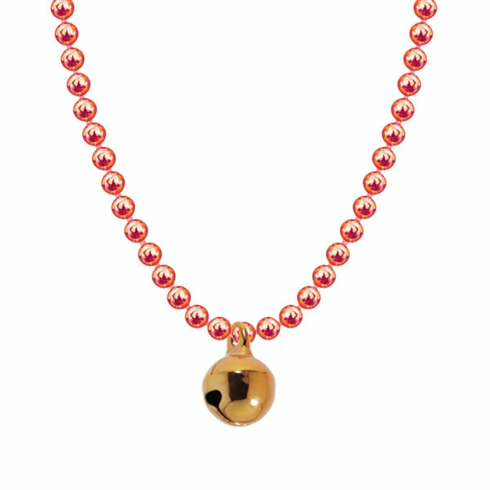 Allumette Bell Necklace - Rose Gold