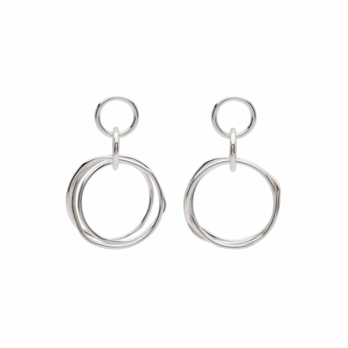 Sterling Silver Petite Knot Earrings