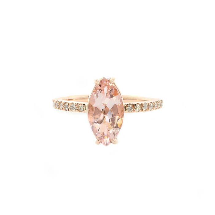 Marquise Rose Gold Ring