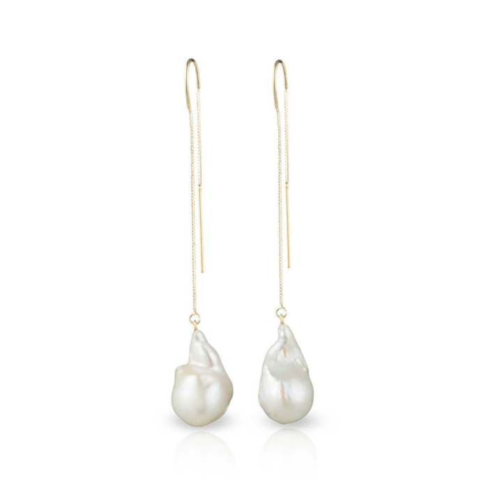 14kt Gold Filled Baroque Freshwater Pearl Earrings