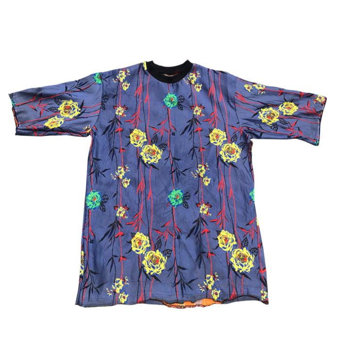 Floral Motif Embroidered Top