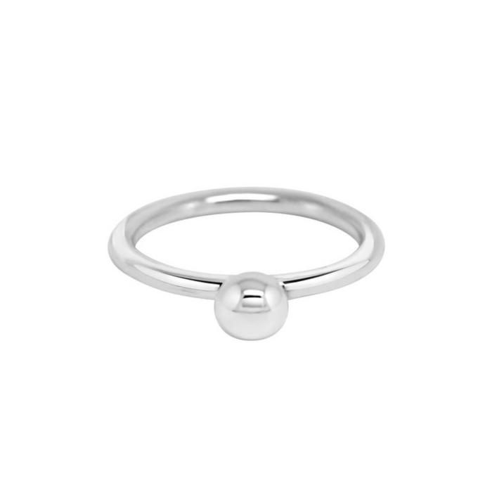 Sterling Silver Large Splash Ring