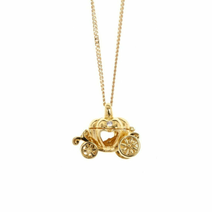 Gold Magical Charm Necklace - Adventure