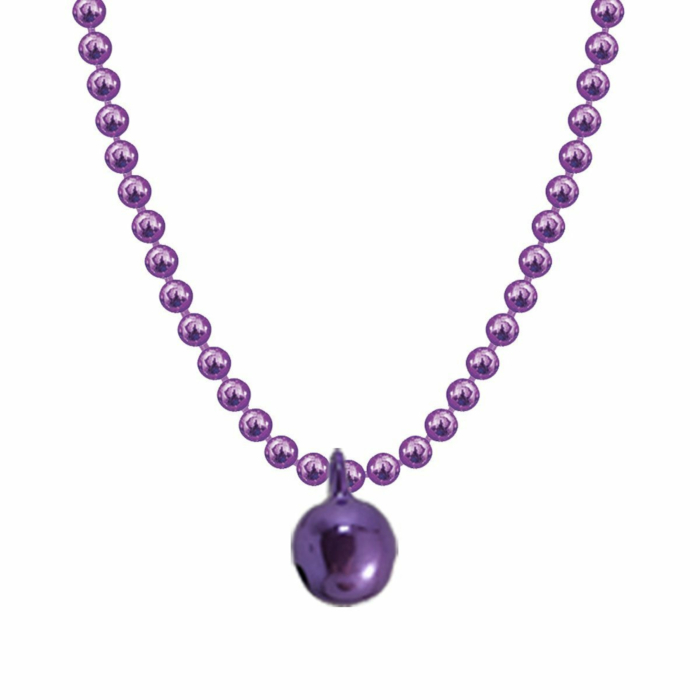 Allumette Bell Necklace - Lilac