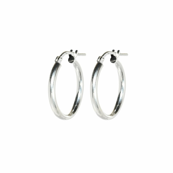 Everyday Small Silver Hoops