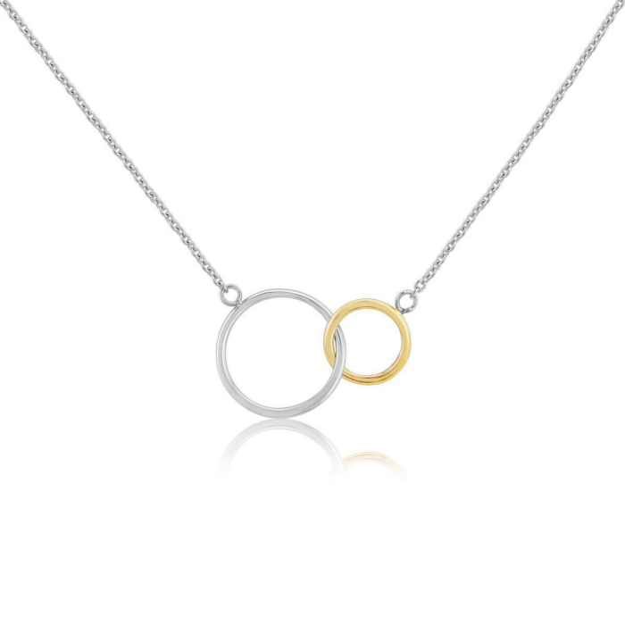 Sterling Silver & Yellow Gold Kelso Necklace