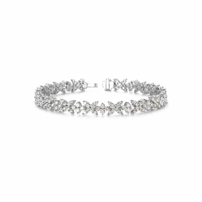 Criss Cross Diamond Bracelet