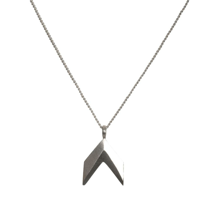 Sterling Silver Spacey Necklace