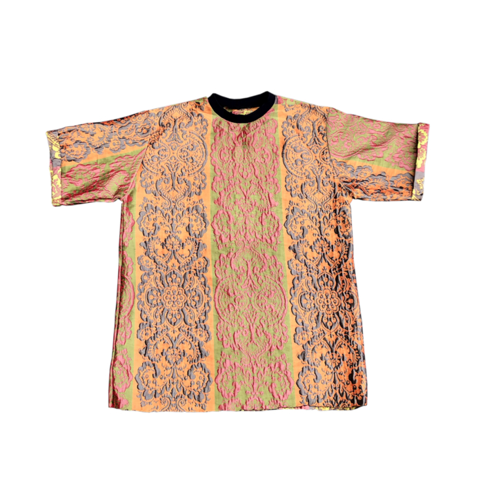 Baroque Motif Embroidered Top