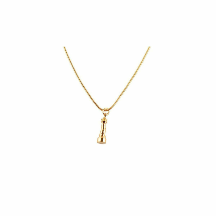 Gold Lighthouse Necklace